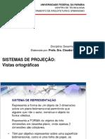 Aula 1 Unid 2 Sistemas de Projecoes VistasOrtogr IDA