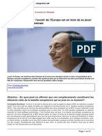 Atlantico.fr - La Vraie Bataille Pour Lavenir de Leurope Est en Train de Se Jouer Dans Lindifference Generale - 2018-02-20