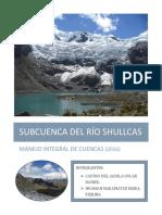 Sub Cuenca Del Rio Shullcas