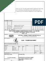 Hp Bypass Valve Data Sheet