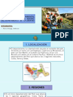 Investigación Minero – Ambiental de Un Área Geográfica Dentro Del Departamento de La Libertad