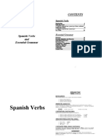 Spanish Verbs and Grammar