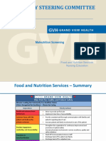 food and nutrition services pi project template