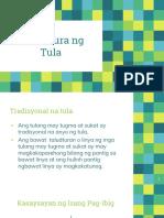 Estruktura Ng Tula