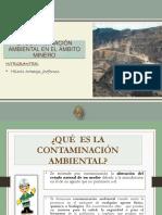 La Contaminación Ambiental en El Ámbito Minero