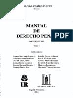 BELM-2118(Manual de Derecho Penal-Castro)