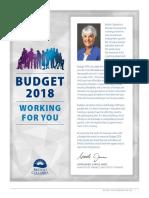 2018 BC Budget Highlights