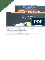 InícioRaspberry PiTransforme o Seu Raspberry Pi Em Um Videogame Com o RetroPie