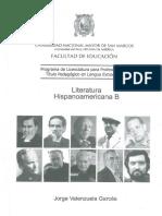 Literatura Hispanoamericana B