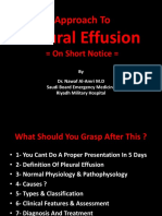 Emergency Medicine Approach to Pleural Effusion