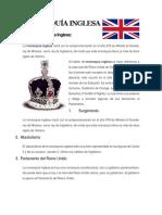 Monarquía Inglesa