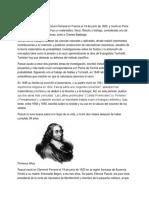 HISTORIA DE PASCAL