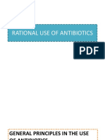 Rational Use of Antibiotics
