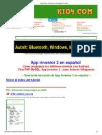 App Inventor Kio4-JSON