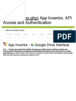 App Inventor Tutorials and Examples_ Google Drive Interface _ Pura Vida Apps
