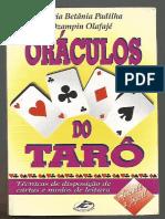Oráculos Do Tarô- Maria Betânia e Ozapin Olafajé