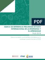 Marco de Referencia Talis-2018
