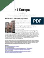 R. Kjelsberg - 5 dager i Europa