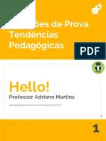 Tendências Pedagógicas- Questões de Provas - Blog Pedagogia Para Concursos