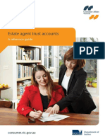 Estate Agents Trust Accounts a Reference Guide