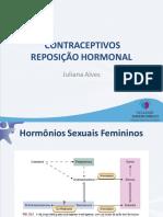 Aula 8 Contraceptivos Reposição Hormonal
