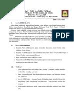 Proposal Natal SMA Negeri 1 Matauli
