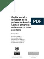 Capital Social y Reduccion de La Pobreza en Al.indice
