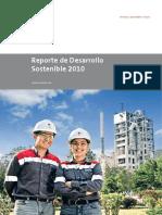 Reporte Desarrollo Sostenible 2010