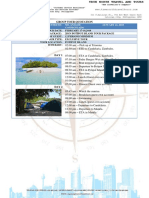 Quotation 2D1N Potipot Islands Private Tour Package Ms. Anagee 12PAX 1718FEB18