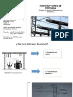 1.3.- Interruptores de Potencia Andrade Hernández Mario
