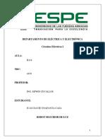 Informe Proyecto Seguidor de Luz