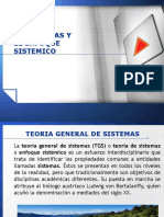 Tutoria 1 - Presentacion de Sistemas y Enfoque Sistemico