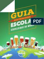E-book Guia de Escolas Cervejeiras - Clube do Malte