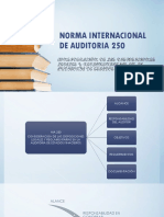 Norma Internacional de Auditoria 250 Presentacion