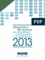 Diganostico de Avance en Monitoreo y Evaluacion 2013 Coneval