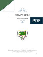 Proyecto Transversal Tiempo Libre 2018