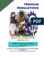 TR - Artificial Insemination (Swine) NC II