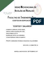 costos de obras 2018 michoacan