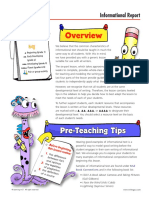 Sample Process Writing Lesson Plan