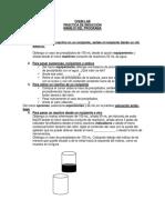CHEM Manejo Del Programa