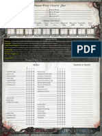 Daemon Prince Character Sheet Hq