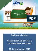 Capacitacion Aplicadores y Coordinadores Salones