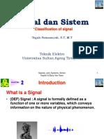 Kuliah 2 Sinyal Dan Sistem