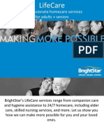 LifeCare Compassionate Homecare Services For Adults And Seniors