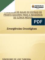 Aula de Emergencias Oncologicas