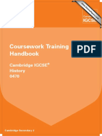 0470 History Coursework Training Handbook 2013 WEB (1)