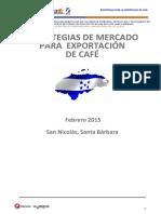Estrategias de Mercado Para La Exportación de Café
