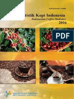 Statistik Kopi Indonesia 2016