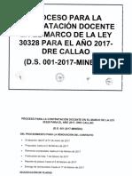 15 Proceso Contratacion Docente 26ene 2017