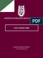 IPN Cita Harvard.